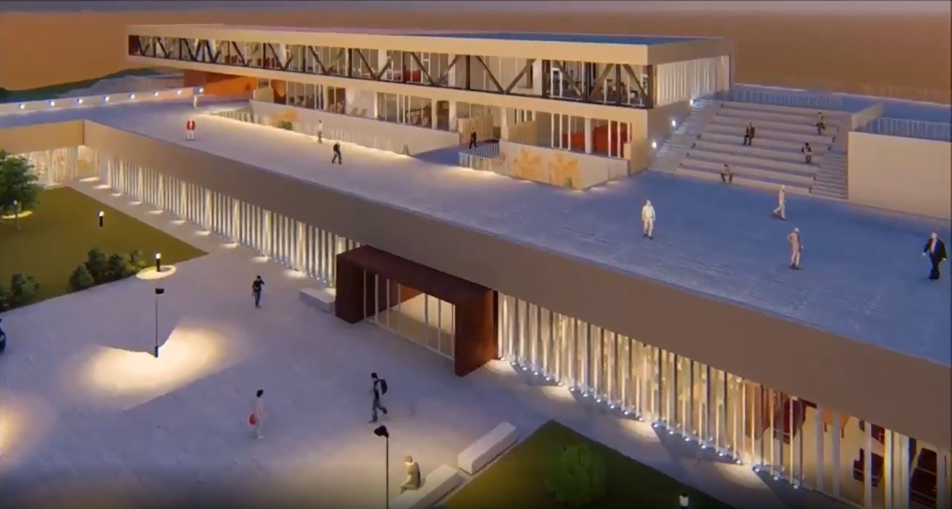 El nuevo centro de mayores y la nueva biblioteca cada vez más cerca